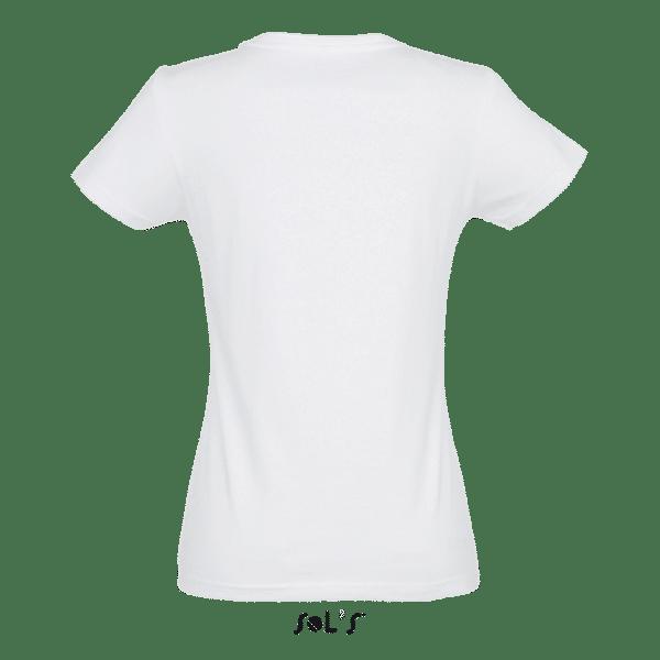 T-Shirt Roundneck, Frauen, SOL'S, Back - Hauptstadt Print 24