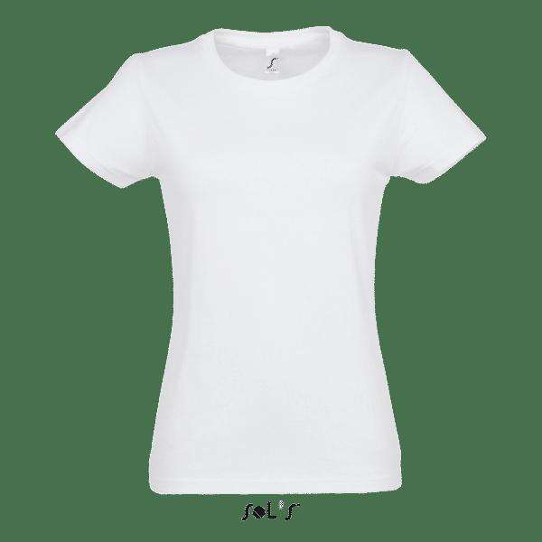 T-Shirt Roundneck, Frauen, SOL'S, Front - Hauptstadt Print 24